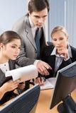 Corporate work Stock Photography