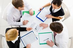 Corporate work Royalty Free Stock Images
