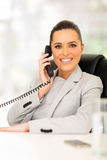 Corporate worker telephone Stock Photography