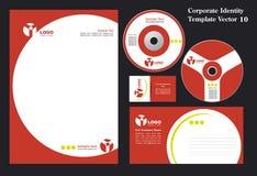 CorporateBusiness Schablone stock abbildung