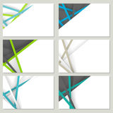 Corporatieve stijl, Vectorillustratie Stock Foto's