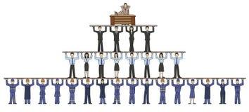 corporation ilustração do vetor