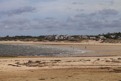 Corporation Beach on Cape Cod. Corporation Beach in Dennis, Massachusetts on Cape Cod in the summer Stock Photography