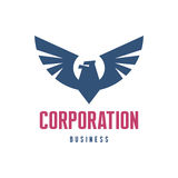 Corporation Business - Eagle Logo Sign Royalty Free Stock Photography