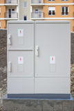Corporation Electricity Box Stock Photo