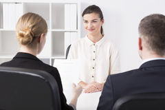 Corporation job interview Royalty Free Stock Photography