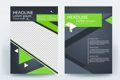Corporative business flyer brochure vector template design. Corporative business flyer brochure banner poster concept vector template design vector illustration