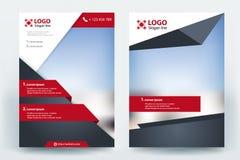 Corporative business flyer brochure vector template design. Corporative business flyer brochure banner poster concept vector template design royalty free illustration