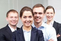 Corporative businesspeople Stock Image