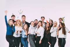 Free Corporative. Group Of People Colleagues Fun And Smile. Royalty Free Stock Photos - 104306578