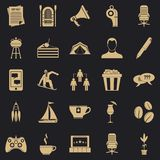 Corporative icons set, simple style. Corporative icons set. Simple set of 25 corporative vector icons for web for any design vector illustration