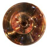 Corpos de vidro concêntricos Fotografia de Stock Royalty Free