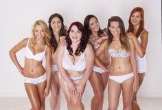 Corpos perfeitos em cada tamanho Imagem de Stock Royalty Free