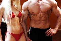 Corpos 'sexy' e grandes da forma Imagens de Stock