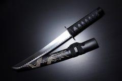 Épée samouraï traditionnelle images stock