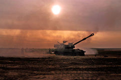 Corps d'artillerie - Israël Photographie stock