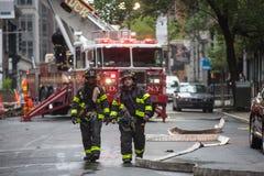 Corps de sapeurs-pompiers de ville de New-York FDNY Images libres de droits