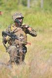 Corps des Marines des Etats-Unis en Indonésie Image stock
