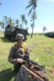 Corps des Marines des Etats-Unis en Indonésie Images stock