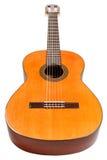 Corps en bois de guitare acoustique principale Photographie stock libre de droits