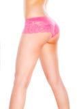 Beau corps féminin dans les sous-vêtements Images libres de droits