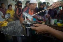 CORPS MUSULMANS INDONÉSIENS POUR LA PEINE DE MORT AUX TRAFIQUANTS DE DROGUE Photographie stock libre de droits
