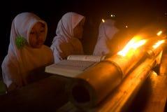 CORPS MUSULMANS INDONÉSIENS POUR LA PEINE DE MORT AUX TRAFIQUANTS DE DROGUE Photo libre de droits