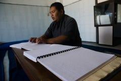 CORPS MUSULMANS INDONÉSIENS POUR LA PEINE DE MORT AUX TRAFIQUANTS DE DROGUE Photos stock