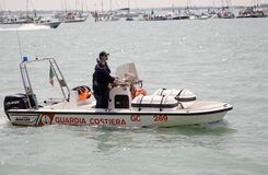 Corps of the Port Captaincies Coast Guard Stock Photos