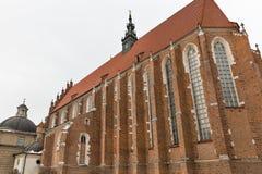 Corpus Christi Church in Jewish Kazimierz district of Krakow, Poland. Stock Photo