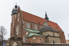 Corpus Christi Church in Jewish Kazimierz district of Krakow, Poland. Stock Photography