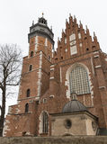Corpus Christi Church in Jewish Kazimierz district of Krakow, Poland. Royalty Free Stock Image