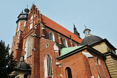Corpus Christi Church  in the Kazimierz district of Krakow Stock Images