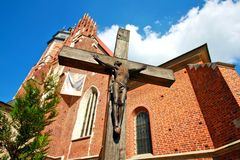 Corpus Christi Church,  Krakow, Royalty Free Stock Photos