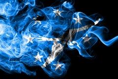 Corpus Christi city smoke flag, Texas State, United States Of America royalty free illustration