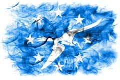 Corpus Christi city smoke flag, Texas State, United States Of Am. Erica Royalty Free Stock Images