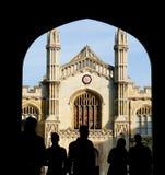 Corpus Christi College, Cambridge Arkivbild