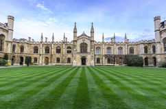 Corpus Christi College Cambridge Fotografie Stock