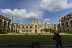 Corpus Christi College Royalty Free Stock Photography