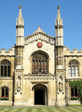 Corpus Christi College Cambridge University Royalty Free Stock Photo