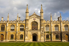 Corpus Christi College at Cambridge University Royalty Free Stock Images