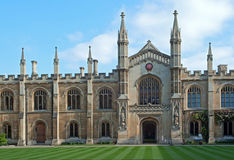 Corpus Christi college yard Royalty Free Stock Photography