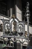 Corpus Christi-Fahne Stockfotos