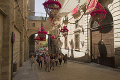 Corpus Christi Festival in Toledo, Spain Royalty Free Stock Images