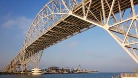 Corpus Christi Harbor Bridge. In the Port of Corpus Christi, Texas Royalty Free Stock Photo