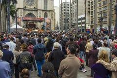 Corpus Christi holyday - Σάο Πάολο Στοκ Εικόνα