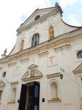 Corpus Christi kościół w NESVIZH, BIAŁORUŚ Zdjęcia Stock