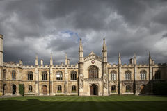 Corpus Christi is one of the smallest but also most elegant and wealthiest of Cambridge University's Colleges Stock Photography