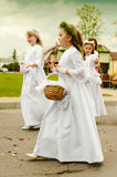 Corpus Christi procession Royalty Free Stock Image