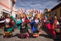 Corpus Christi in Pujili Ecuador Immagini Stock Libere da Diritti